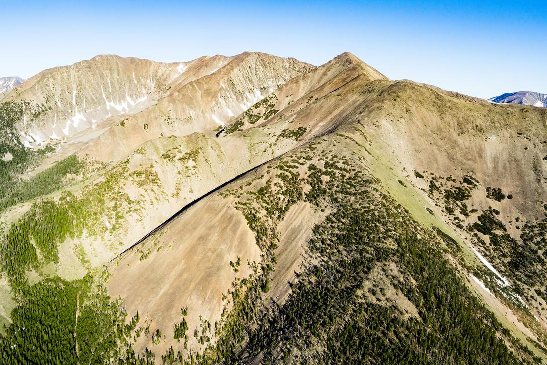 Crazy Mountains near Cascade Lake