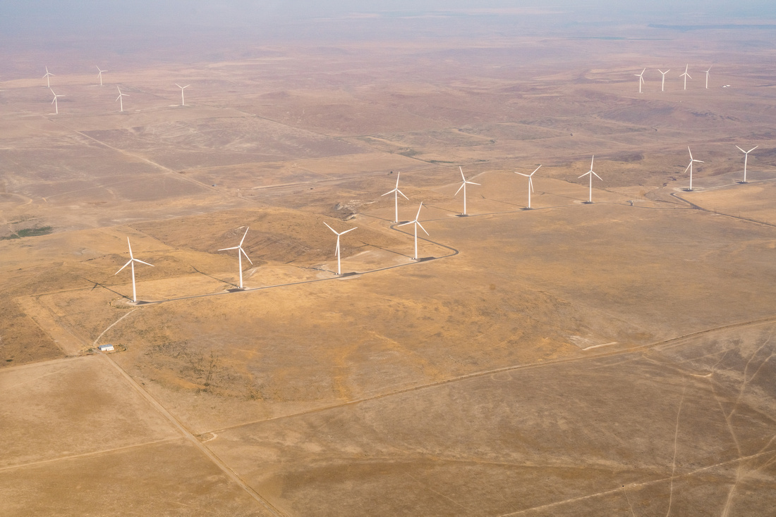 Wind Turbines south of Buhl