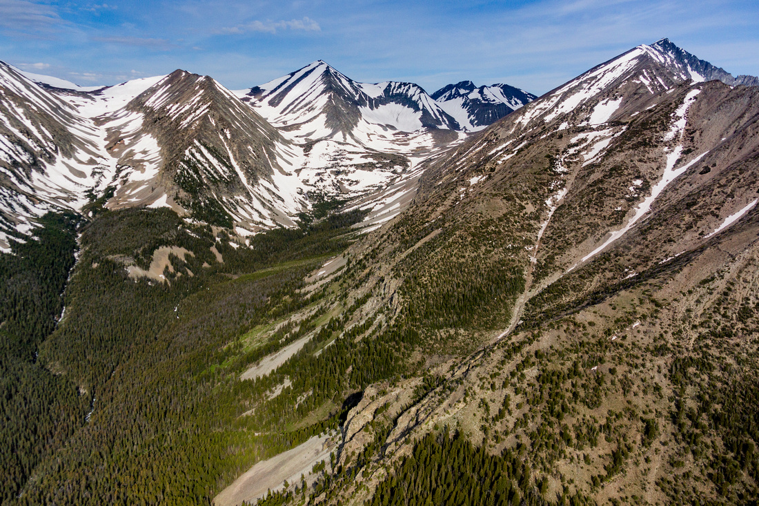 Crazy Peak in the Crazy Mountains