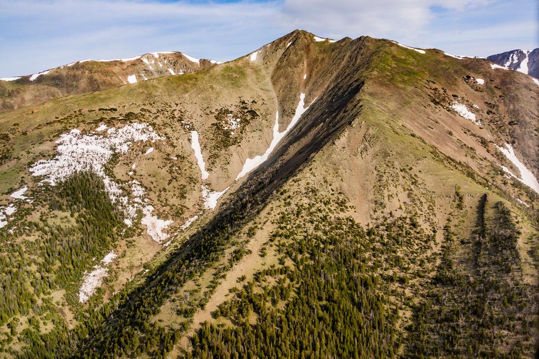 Fairview Peak Crazy Mountains