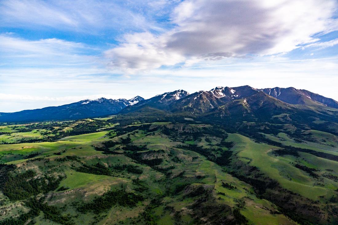 Fairview Peak in Crazy Mountains