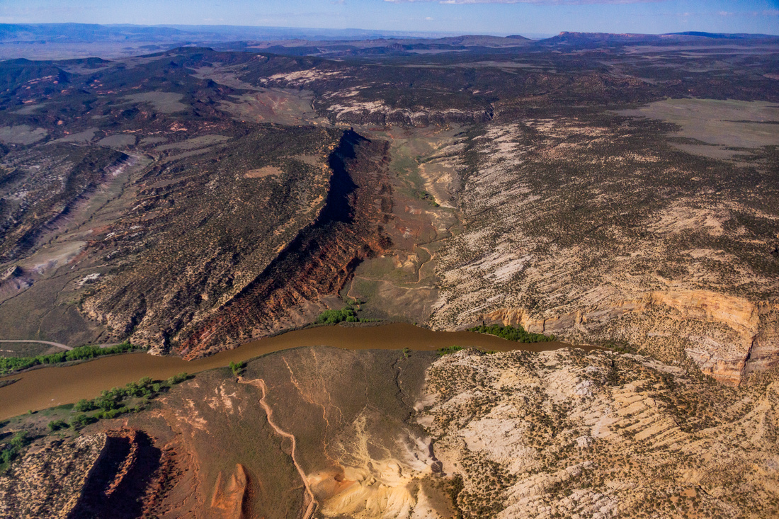 Dinosaur National Monument Vale of Tears Yampa River