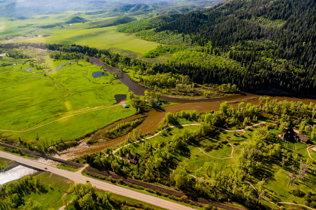 Elk River and Yampa River Confluence