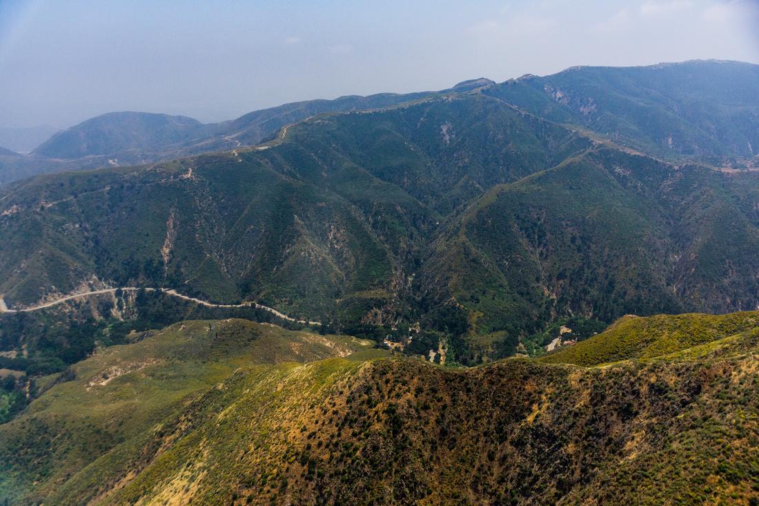 San Gabriel Mountains Pacoima Canyon