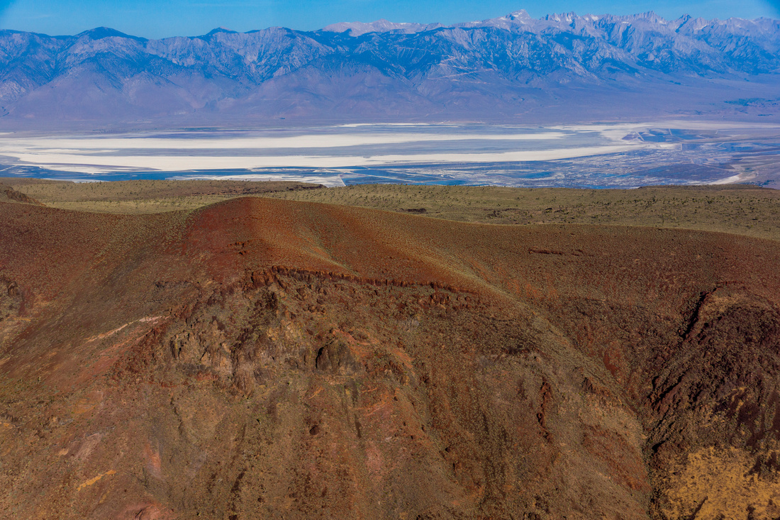 Malpais Mesa and Owens Lake in distance-2