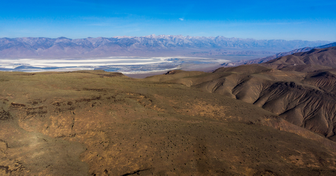 Malpais Mesa and Owens Lake
