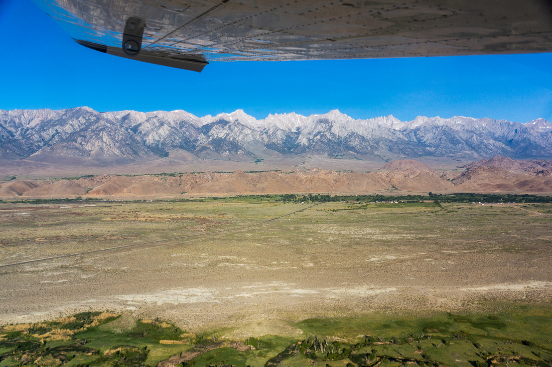 Owens River Valley and the Eastern Sierra Nevada John Muir Wilderness