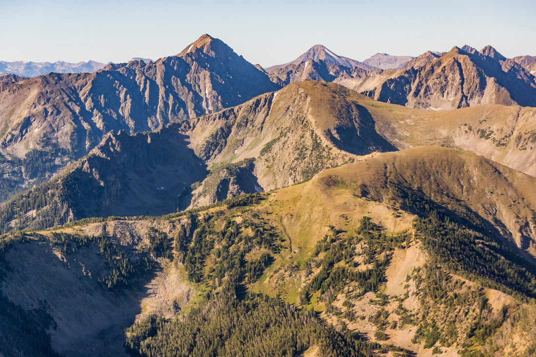 Beacon Point in Lee Metcalf Wilderness