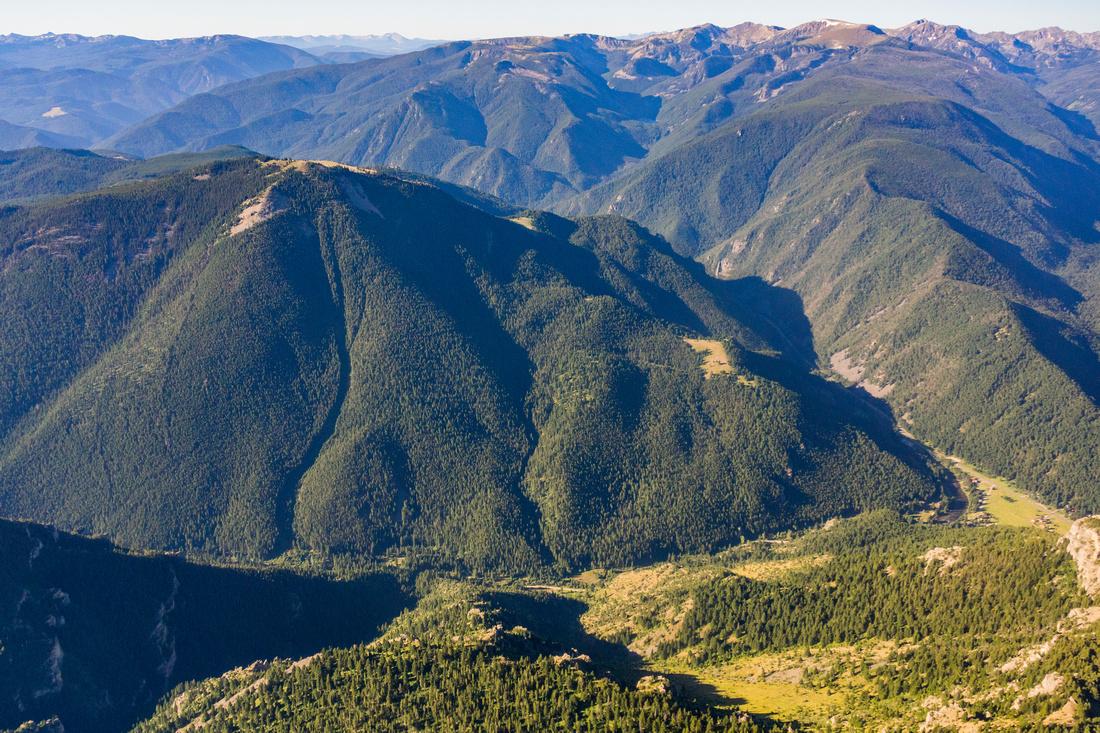 Garnet Mountain and Lee Metcalf Wilderness