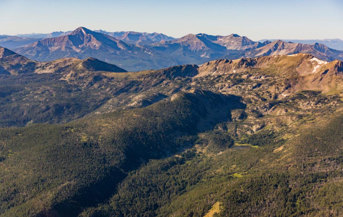 Spanish Peaks Lee Metcalf Wilderness Gallatin National Forest-3