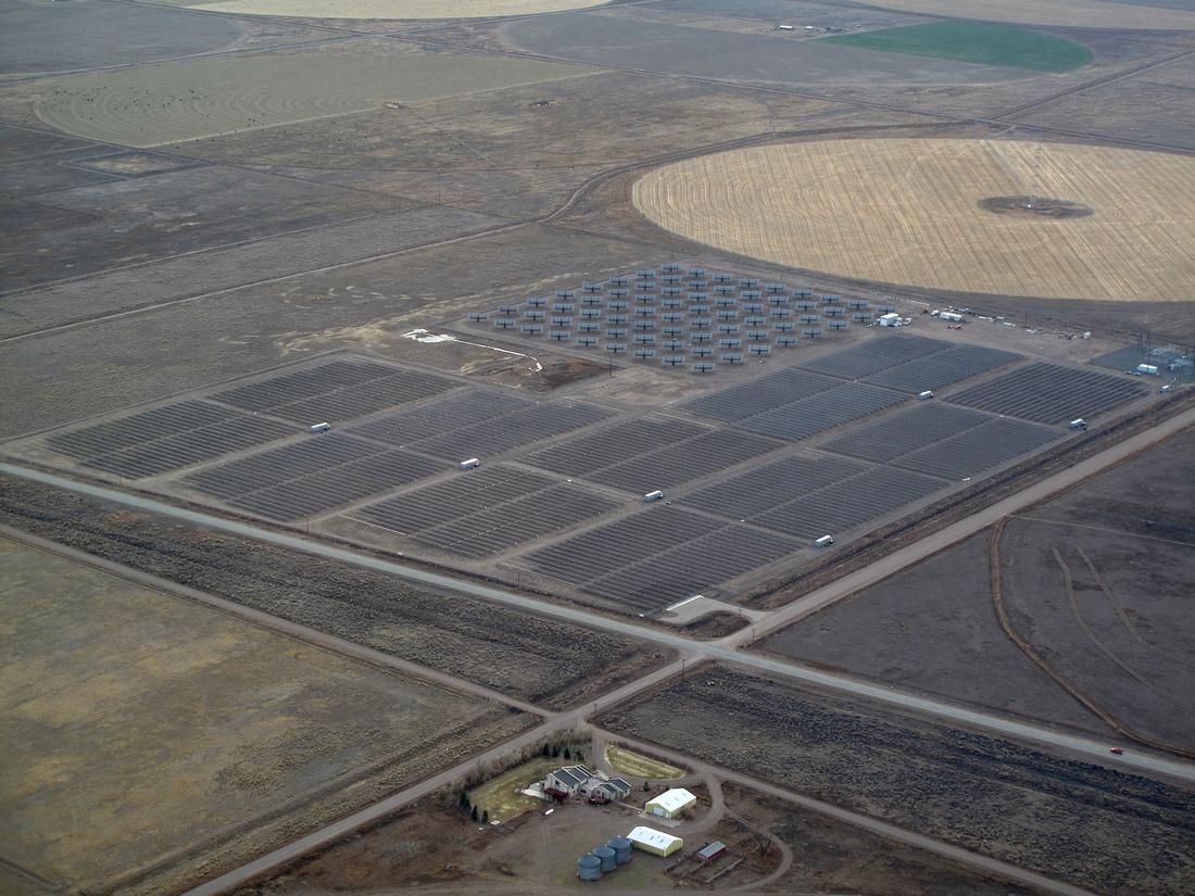 Alamosa, Colorado - Sun Edison Solar Farm