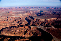Ekkar Butte and the Green River in Canyonlands, Utah