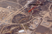 Parachute Creek Gas Plant - Location of March 2013 Hydrocarbon Spill