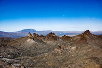 Castle Peaks with Ivanpah Solar Generating Station in the background (1 of 1)
