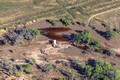 Crude oil leaking into the South Platte River near Milliken, CO