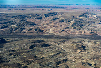 Oil and gas pads near Montezuma Creek Navajo Nation