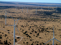 Aragonne Mesa Wind Farm, Santa Rosa, New Mexico