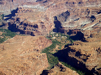 Supai Village - home of the Havasupai Indians