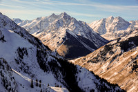 Pyramid Peak and Maroon Bells, January 2015