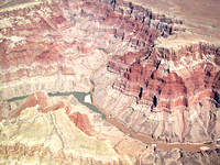 The Little Colorado joins the Colorado River in the Grand Canyon