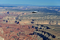 EcoFlight's 761XE over the Grand Canyon