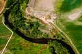 Site of the 7,500 gallon crude oil spill on the Cache La Poudre River