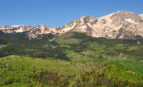 Hay Park proposed wilderness below Mt. Sopris