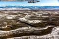 Pinedale Anticline Natural Gas Fields and Wind River Range-3