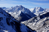 Pyramid Peak & Maroon Bells, January 2015