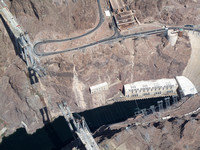 Mike O'Callaghan - Pat Tillman Memorial Bridge below the Hoover Dam on Lake Mead