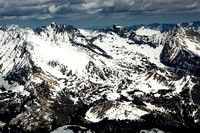 Pioneer Mountain Range in Sawtooth National Forest