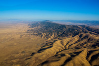 Caliente Range and Painted Rock in Carrizo Plain National Monument
