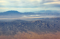 Castle Peaks North in front of Ivanpah Solar Array (1 of 3)