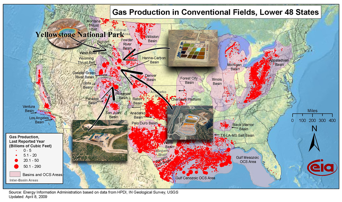 A Description Of Fracking Hydraulic Fracturing Ecoflight